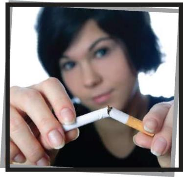 Smoking can be harmful to your mouth, teeth and gums.