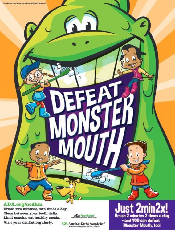 Defeat Monsters Mouth
