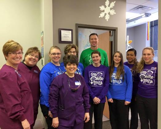 Give Kids A Smile Event 02-07-2015 in Waukesha